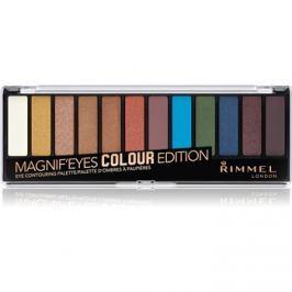 Rimmel Magnif´ Eyes szemhéjfesték paletták árnyalat 004 Colour Edition 14,16 g