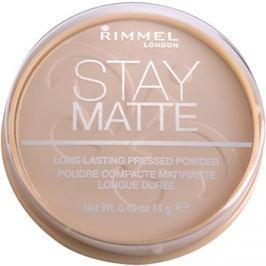 Rimmel Stay Matte púder árnyalat 001 Transparent  14 g