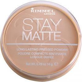 Rimmel Stay Matte púder árnyalat 005 Silky Beige  14 g