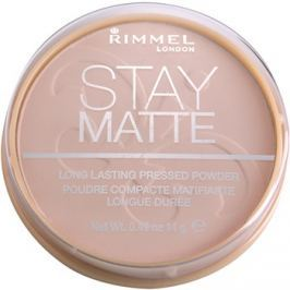 Rimmel Stay Matte púder árnyalat 002 Pink Blossom  14 g