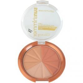 Rimmel Sun Shimmer 3 in 1 Shimmering Bonzer csillogó bronzpúder árnyalat 001 Gold Princess  9,9 g