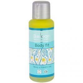 Saloos Bio Body and Massage Oils test és masszázs olaj Body Fit   50 ml