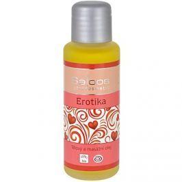 Saloos Bio Body and Massage Oils test és masszázs olaj Erotika   50 ml
