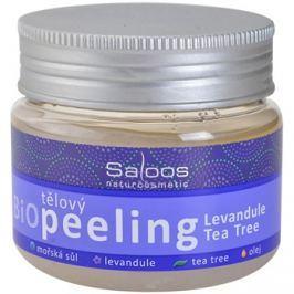 Saloos Bio Peeling levendula és teafa test peeling   140 ml