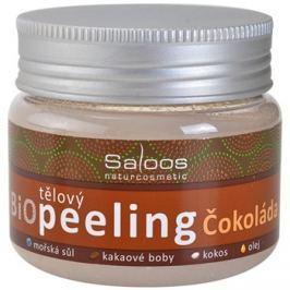 Saloos Bio Peeling csokoládé test peeling   140 ml