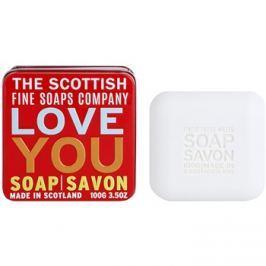 Scottish Fine Soaps Love You Luxus szappan fém dobozban  100 g