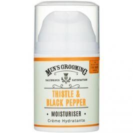 Scottish Fine Soaps Men's Grooming Thistle & Black Pepper hidratáló gél arcra  50 ml