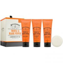 Scottish Fine Soaps Men's Grooming Thistle & Black Pepper kozmetika szett I.