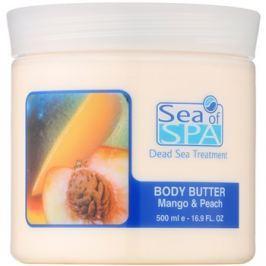 Sea of Spa Dead Sea Treatment testvaj mangóval és barackkal  500 ml