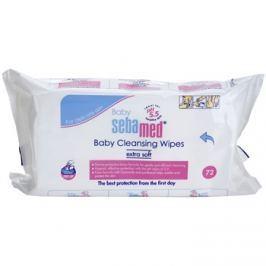 Sebamed Baby Care tisztító gyengéd törlőkendő  72 db