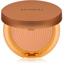 Sensai Silky Bronze vízálló és védő napozó púder SPF30 SC04 Dark  8,5 g
