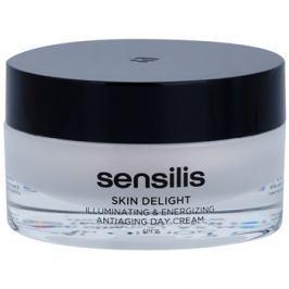 Sensilis Skin Delight ráncellenes krém a bőr ragyogásáért és vitalitásáért SPF15  50 ml