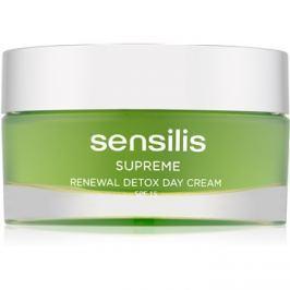 Sensilis Supreme Renewal Detox detoxikáló és regeneráló nappali krém SPF15  50 ml