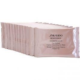 Shiseido Benefiance WrinkleResist24 szem maszk retinollal  12 db