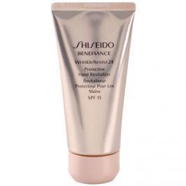 Shiseido Benefiance WrinkleResist24 regeneráló védőkrém kézre SPF15  75 ml