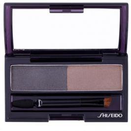 Shiseido Eyes Eyebrow Styling paletta a szemöldök sminkeléséhez árnyalat GY 901 Deep Brown 4 g