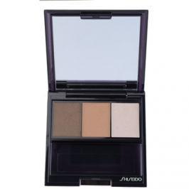 Shiseido Eyes Luminizing Satin trio szemhéjfesték  árnyalat BR 307 Strata 3 g