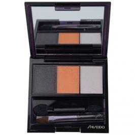 Shiseido Eyes Luminizing Satin trio szemhéjfesték  árnyalat OR 302 Fire 3 g