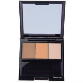 Shiseido Eyes Luminizing Satin trio szemhéjfesték  árnyalat BR 209 Voyage 3 g