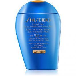 Shiseido Sun Protection naptej arca és testre SPF50+  100 ml