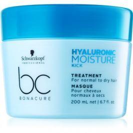 Schwarzkopf Professional BC Bonacure Moisture Kick haj maszk hialuronsavval  200 ml