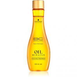 Schwarzkopf Professional BC Bonacure Oil Miracle Argan Oil hajkúra erős, vastag és száraz hajra  100 ml