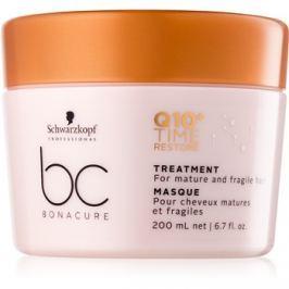 Schwarzkopf Professional BC Bonacure Time Restore Q10 maszk vékonyszálú és normál hajra  200 ml