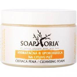 Soaphoria Care hidratáló és nyugtató tisztító hab az érzékeny bőrre  150 ml