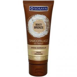 Soraya Beauty Bronze önbarnító arckrém világos bőrre  75 ml