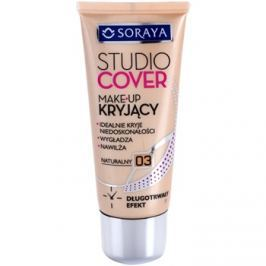 Soraya Studio Cover fedő make-up E-vitaminnal árnyalat 03 Natural  30 ml