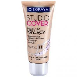 Soraya Studio Cover fedő make-up E-vitaminnal árnyalat 11 Beige  30 ml