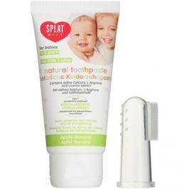 Splat Baby természetes fogkrém gyermekeknek masszírozó kefével íz Apple/Banana 40 ml