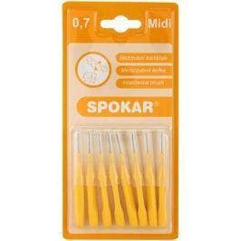 Spokar Classic fogköztisztító kefék 8 db Midi 0,7 mm/3,5 mm