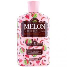 Tannymaxx 6th Sense Melon Rainbow karcsúsító szoláriumos napozó krém a napbarnított hatásért  200 ml