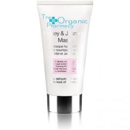 The Organic Pharmacy Skin arcmaszk jázminnal és mézzel száraz bőrre  60 ml