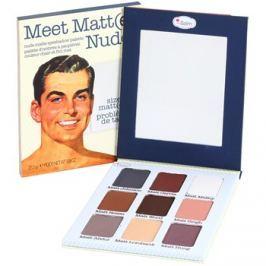 theBalm Meet Matt(e) Nude szemhéjfesték paletták  25,5 g