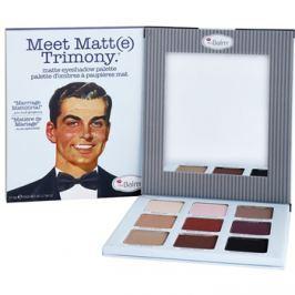 theBalm Meet Matte(e) Trimony szemhéjfesték paletták tükörrel  21,6 g
