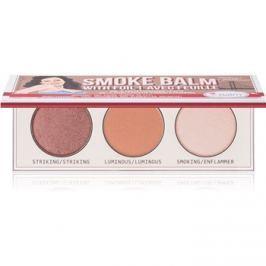 theBalm Smoke Balm with Foil szemhéjfesték paletták  7,2 g