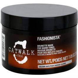 TIGI Catwalk Fashionista hajmaszk meleg-barna árnyalatokra  200 g