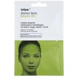 Tołpa Dermo Face Futuris 30+ revitalizáló maszk hidratáló hatással  2 x 6 ml
