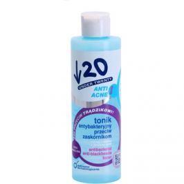 Under Twenty ANTI! ACNE antibakteriális tonik a fekete pontok ellen  200 ml