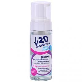 Under Twenty ANTI! ACNE antibakteriális hatású tisztító hab  150 ml