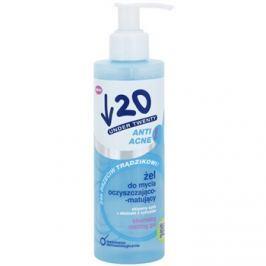 Under Twenty ANTI! ACNE mélyen tisztító gél pattanások ellen  200 ml