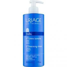 Uriage 1érs Soins Bébés tisztító krém arcra, testre és hajra  500 ml