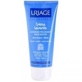 Uriage 1érs Soins Bébés tisztító krém arcra, testre és hajra  200 ml