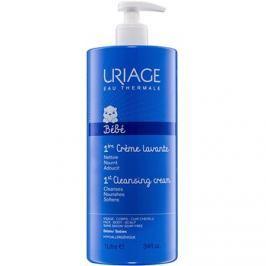Uriage 1érs Soins Bébés tisztító krém arcra, testre és hajra  1000 ml