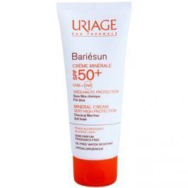 Uriage Bariésun ásványi védőkrém arcra és testre SPF50+ vízálló  100 ml