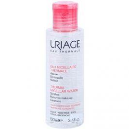 Uriage Eau Micellaire Thermale micelláris tisztító víz Érzékeny, bőrpírra hajlamos bőrre  100 ml