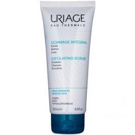 Uriage Hygiène peeling tisztító gél az érzékeny bőrre  200 ml