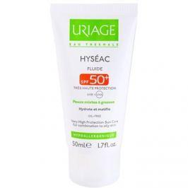 Uriage Hyséac mattító folyadék hidratáló hatással SPF50+  50 ml